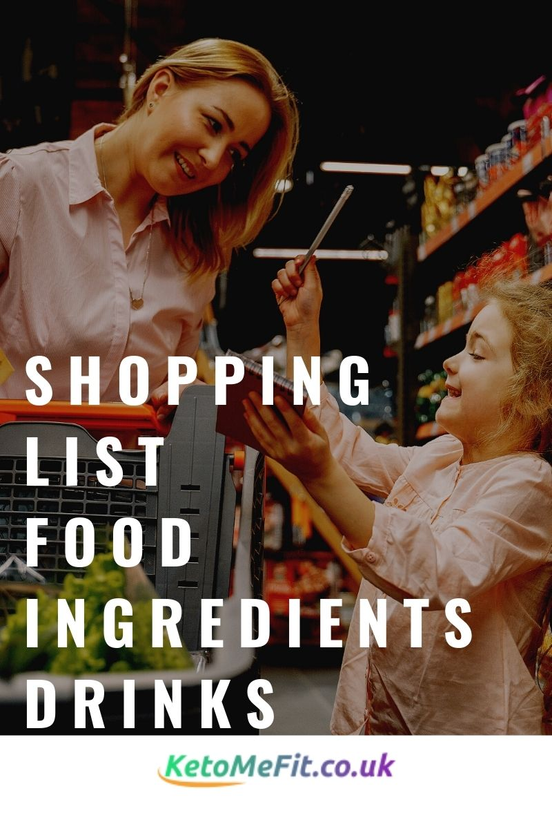 how to start a keto or low carb diet keto shopping list
